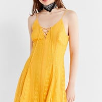The Jet Set Diaries Alyanna Embroidered Tassel Dress | Urban Outfitters