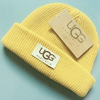 UGG Fashion Casual Girls Boys Children Crochet Hat