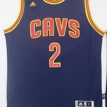 Kyrie Irving #2 Cleveland Cavaliers Blue Navy CAVS Swingman Jersey