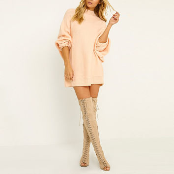 Tammy Oversized Sweater Dress