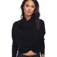 Free People Sugar Wrap Top Sweater Sweater - 6pm.com
