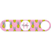 Pineapple Monogram - Personalized Bottle Opener