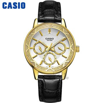 Casio watch Fashion Business Three Waterproof Steel Ladies LTP-2087GL-1A LTP-2087GL-4A LTP-2087GL-5A LTP-2087L-4A LTP-2087G-4A