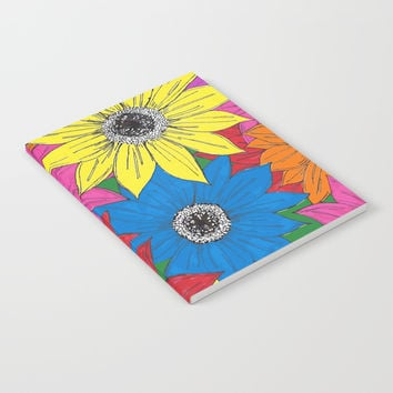 Sunflowers Notebook by JustV