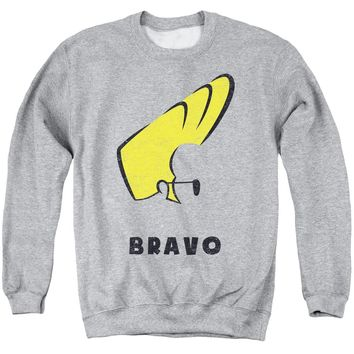 Johnny Bravo - Johnny Hair Adult Crewneck Sweatshirt Officially Licensed Apparel