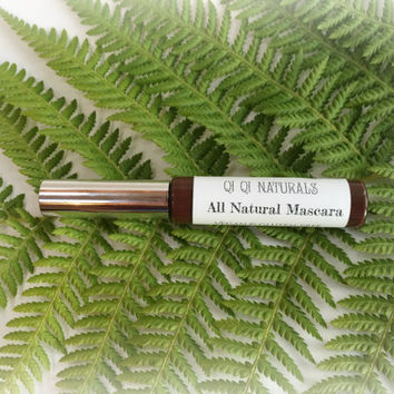 All Natural Mascara- Vegan Mascara with natural clay