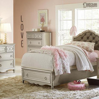 Arielle Twin Size Upholstered Storage Bed