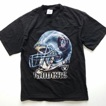 90s Oakland Raiders NFL T Shirt