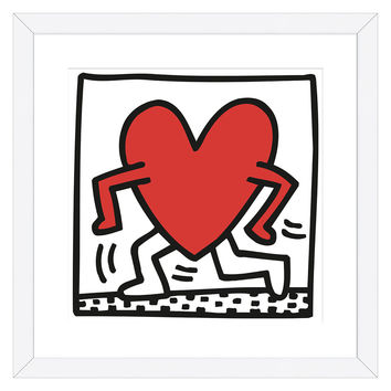 KH04 by Keith Haring (Framed)