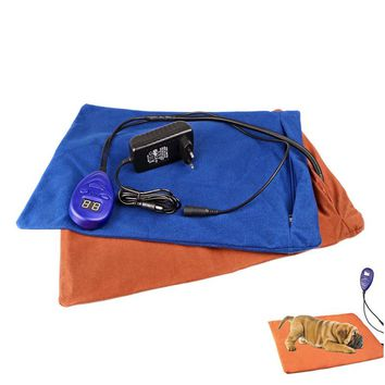 Winter Pets Heating Pad Electric Warming Mat Comfortable Overheat Protection for Dogs Cats Beds
