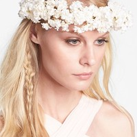 Whichgoose 'Buds of May' Flower Hair Wreath | Nordstrom