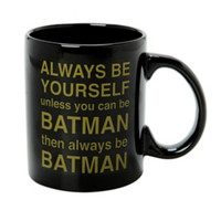 DC Comics Batman Be Yourself Ceramic Mug