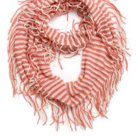 With Love From CA Striped Fringe Scarf at PacSun.com