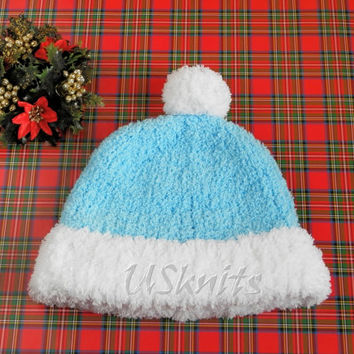The Snow maiden costume knit hat
