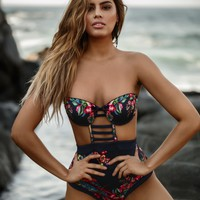 Agua Bendita Birds Swimsuit
