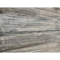 3D Barn Wood 5/16 in. x 3 in. x 24 in. Reclaimed Wood Decorative Wall Planks in Gray Color (10 sq. ft. / Case)-11334 - The Home Depot
