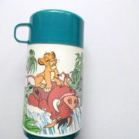 Vintage Disney's Lion King Thermos 1993