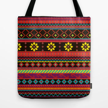 Geometric Summer Pattern Tote Bag by Noonday Design