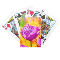 Tulips Enchanting 12 Bicycle Playing Cards