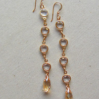 Classic Channel Set Earrings - Christine Elizabeth Jewelry