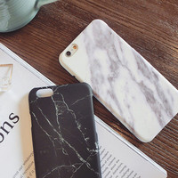 Stylish Iphone 6/6s Cute On Sale Hot Sale Hot Deal Korean Black Matte Phone Case [6465566022]