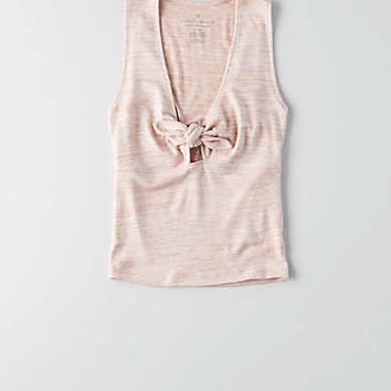 AEO First Essentials Knot Tank , Rose