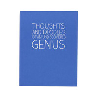 Thoughts and Doodles Notebook design by Wild & Wolf - Default