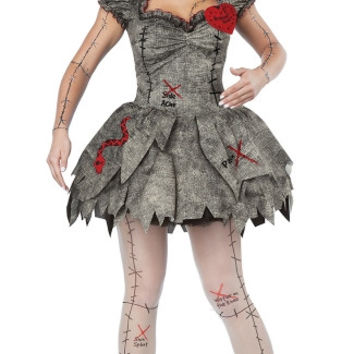 Sexy Voodoo Dolly Costume