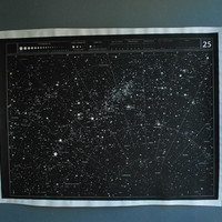 Large Unmounted Star Chart by AGC916 on Etsy