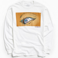 Aeon Flux Eye Fly Long Sleeve Tee | Urban Outfitters