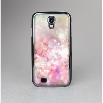 The Unfocused Pink Abstract Lights Skin-Sert Case for the Samsung Galaxy S4