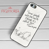 Winnie The Pooh Quotes Vintage  - Zd for  iPhone 4/4S/5/5S/5C/6/6+s,Samsung S3/S4/S5/S6 Regular/S6 Edge,Samsung Note 3/4
