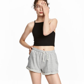 Short Camisole Top - from H&M