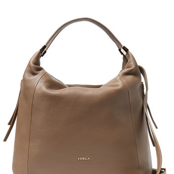 Furla Women's Liz Medium Hobo - Brown