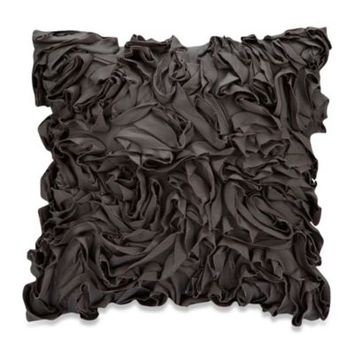 Anthology™ Whisper 16-Inch Square Toss Pillow in Pewter
