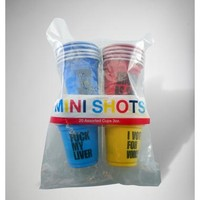 Mini Shots Color Set 20 Pk