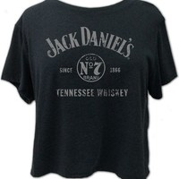 Jack Daniel's Women's Tennessee Whiskey Crop Tee