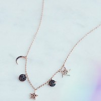 Free People Solar System Charm Choker