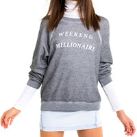 Weekend Millionaire Sommers Sweater - Wildfox
