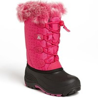 Girl's Kamik 'Snowgypsy' Waterproof Snow Boot