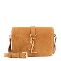 Monogram Université Small suede shoulder bag