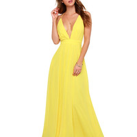 Strappy V-neck Backless Sheath Maxi Dress