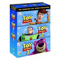 The Complete Toy Story Collection: Toy Story / Toy Story 2 / Toy Story 3 DVD: Amazon.co.uk: Tom Hanks, Tim Allen, Joan Cusack, Kelsey Grammer, Don Rickles, John Ratzenberger, Lee Unkrich, John Lasseter, Ash Brannon: Film & TV