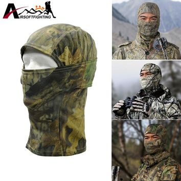 Breathable Chiefs Rattlesnake Full Face Mask Tactical Hunting Camo Balaclava Under Helmet Cap Winter Neck Warm Cover Headgear