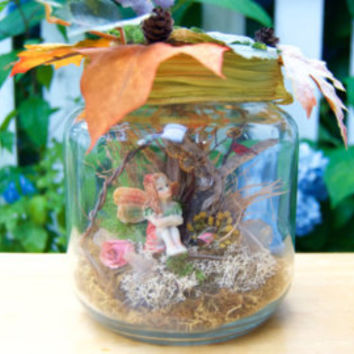 Fairy Jar » Fairies in a Jar » Fairy Gift » Faerie » Fantasy Gifts » Garden Fairies » Captured Fairy » Captive Fairy » Gifts for Girls
