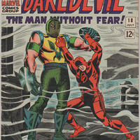 Daredevil; V1, 18.  FN+. Jul 1966.  Marvel Comics