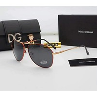 D&G Women Casual Popular Summer Sun Shades Eyeglasses Glasses Sunglasses Red I-A-SDYJ
