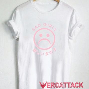 Sad Girl Japanese T Shirt Size XS,S,M,L,XL,2XL,3XL