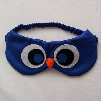 Owl Sleep Mask, Owl Sleep Goggles, Owl Eye Mask