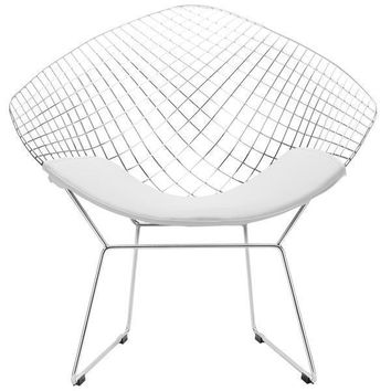 Morph Lounge Chair | White